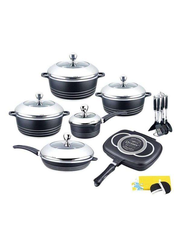 Dessini 23-Piece Non-stick Die-cast Cookware