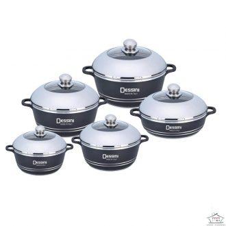 Dessini 10-Piece Non-stick Die-cast Cookware